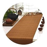 LXF テーブルランナー 伝統的なロング表旗竹のデザイン - テーブルランナーのために結婚式のバックドロップレセプションパーティーブライダルシャワーの装飾 (Size : 30×100cm)