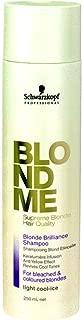 Schwarzkopf BLONDME Blonde Brilliance Shampoo Light Cool Ice (250ml)