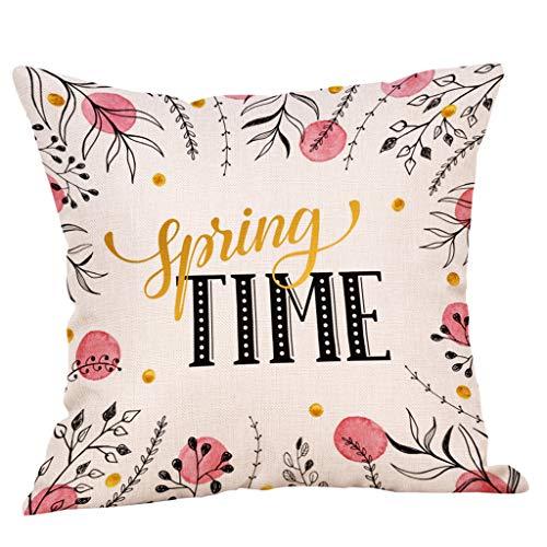 SIRIGOGO 2019 - Funda de cojín decorativa para sofá, cama, sofá, 45,7 x 45,7 cm