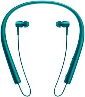 Sony/索尼 MDR-EX750BT运动跑步颈挂入耳式无线蓝牙耳机通话 (翠绿色)