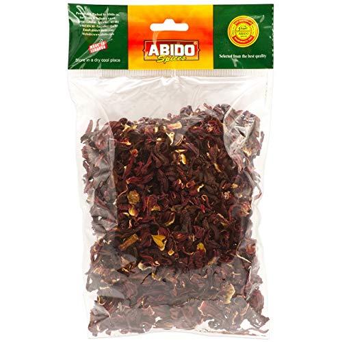 Abido - Karkadeh Tee - Hibiskus Malventee - Hibiskusblüten getrocknet in 100 g Packung