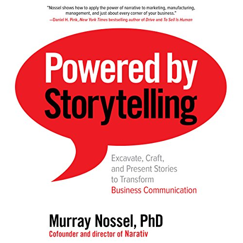 Powered by Storytelling audiobook cover art