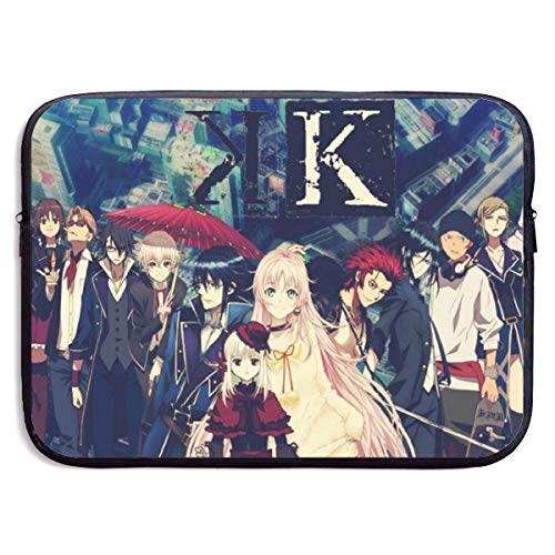 Hdadwy Anime K Project Laptop Sleeve Bag 15 Inch Tablet Briefcase Ultra Portable Protective, Laptop Canvas Cover MacBook Air, MacBook Pro, Notebook Computer Sleeve Case