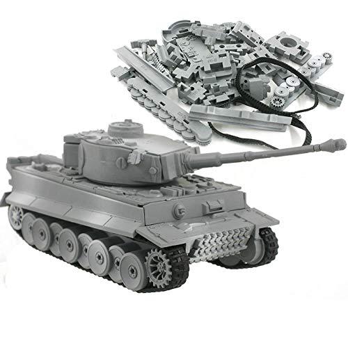 weizhang 4D Modellbausatz Militär Modellbau Tiger Panzer Kollektion Hochdichte Materialien