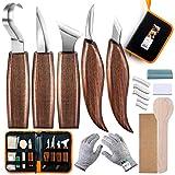 Juego de herramientas para tallar madera de 18 piezas, herramienta de gancho, herramienta ...