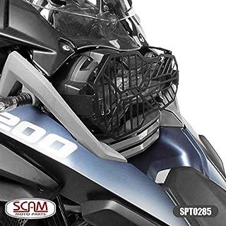 Protetor Farol Aço Carbono Bmw R1200gs 2013+ Scam Spto285