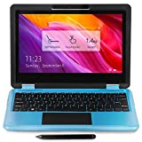AWOW 11.6'' 2 in 1 Laptop Windows 10 Im S Modus NotebookTouchscreen mit Touchstift(Intel Celeron N3450,8GB LPDDR4 256GB SSD Verbindung WLAN ,Bluetooth, 1080P FHD IPS ,HDMI, Type-C,USB, Dual Kamera