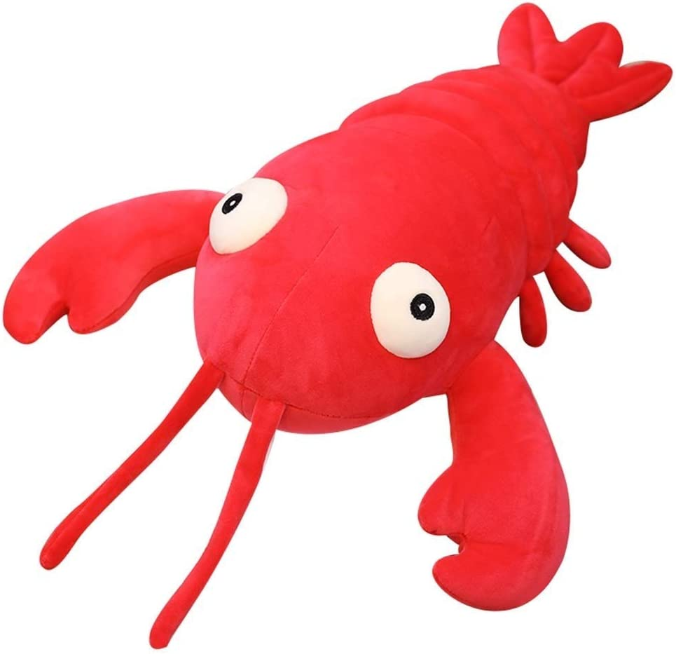 PDGJG Plush Toy The Lobster New mail order Tulsa Mall : Color Animal Stuffed Red