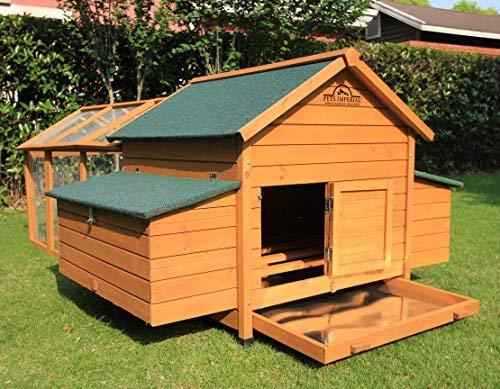 Pets Imperial® - Hühnerstall Marlborough - für 6 bis 8 Hühner Je nach Größe - leicht zu reinigen - 7