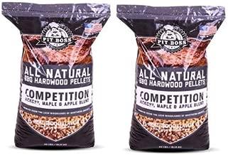 Pit Boss (2 Pack) Competition Blend BBQ Wood Pellets - 40 lb Resealable Bag