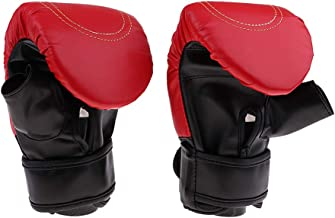 Estilo Deportividad de Moda F Fityle Guantes de Boxeo para Adultos Unisex para Gimnasio Sparring Saco de Boxeo Artes Marciales