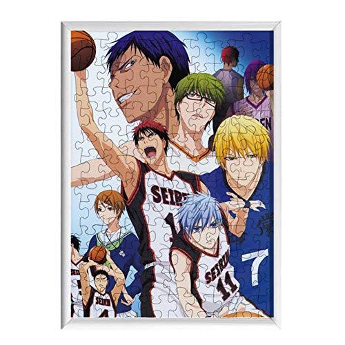 DaiWeiPeng1991 Anime Puzzle Set, 120 Stück Cartoon Puzzle Erwachsene Kinder Puzzle Fun Fact Poster Spiel Interessantes Spielzeug(Kuroko's Basketball-3)