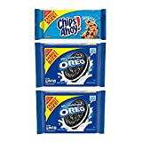 OREO & CHIPS AHOY! Cookies Variety Pack, Family Size, 3 Packs