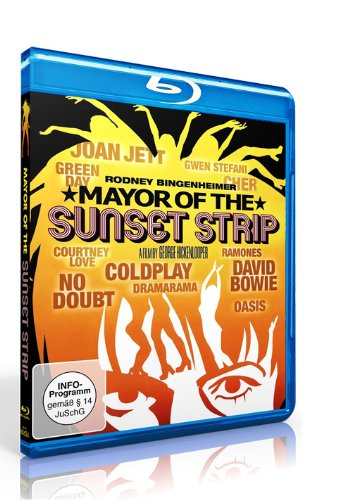 Mayor of the Sunset Strip (David Bowie, Green Day, Ramones...) [Blu-ray]