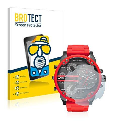 BROTECT 2X Entspiegelungs-Schutzfolie kompatibel mit Diesel DZ7370 Displayschutz-Folie Matt, Anti-Reflex, Anti-Fingerprint
