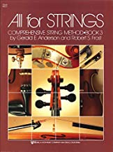 All for Strings : Cello/Book Three (80 CO)