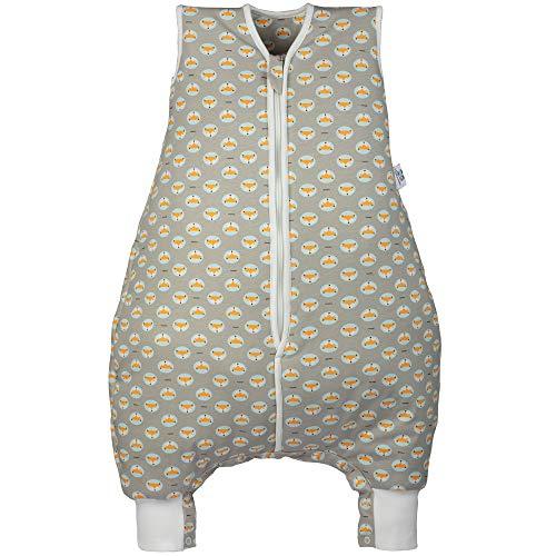 Hosenmax Babyschlafsack mit Beinen – Bio Baumwolle – Ganzjahres Schlafsack Baby – Flinker Fuchs Größe 80 cm – Gratis E-Book