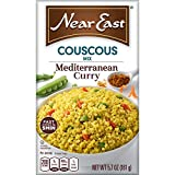 Near East Couscous Mix, Mediterranean Curry 5.7 oz (Pack of 12 Boxes)