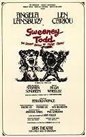 Sweeney Todd ポスター ブロードウェイシアタープレイ 11x17インチ レン・カリオ アンジェラ ランズベリー ビクター ガーバー マスターポスタープリント 11x17インチ