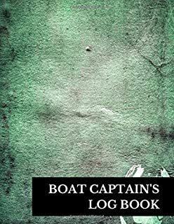 Boat Captain's Log Book