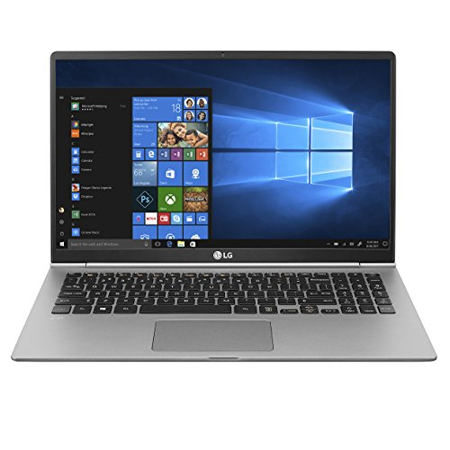 "LG gram Thin & Light Laptop - 15.6"" FHD IPS Touch, 8th Gen Core i7, 16GB RAM, 1TB (2x500GB SSD), 2.5lbs, Up to 16.5 hrs, Thunderbolt 3, Finger Print Reader, Windows 10 Home - 15Z980-R.AAS9U1 (2018)"