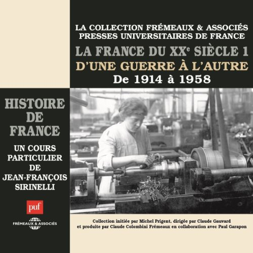 La France du XXe siècle audiobook cover art