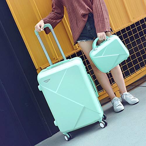 Trolley box ruote universali bagaglio password box maschio 20 pollici valigetta trascinando valigia bagaglio studentessa 24 pollici 26 pollici 28 pollici 28 pollici Picture-light box green_26 inch