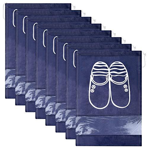 12 Piezas Bolsas de Zapatos,Multifunción a Prueba de Polvo...
