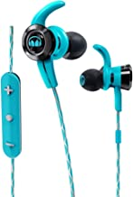 Monster iSport Victory In-Ear Bluetooth Sport Headphones with In-Line Remote and Microphone in Blue, Running, Gymfriendly Sweatproof