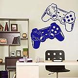 guijiumai Game Zone Decor Wandtattoo Schlafzimmer Videospiel Gamer Joystick Raumdekoration Aufkleber...