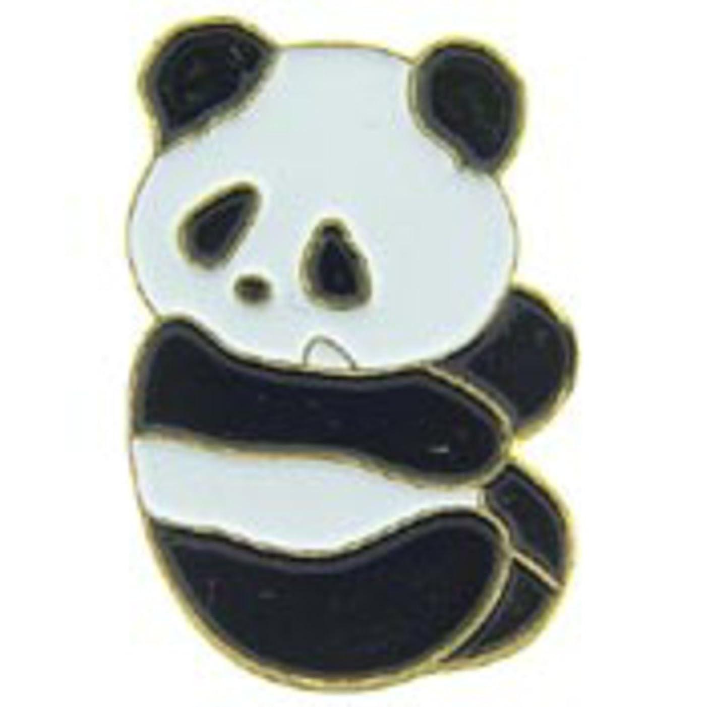 EagleEmblems P63773 Pin-Bear,Panda (1'')