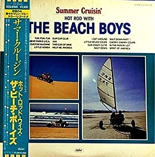 Summer Crusin: Hot Rod With The Beach Boys - BLUE vinyl Japan Import with