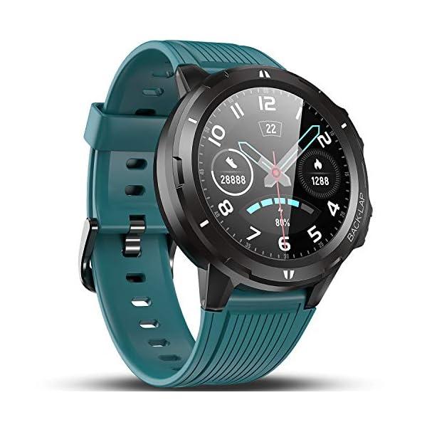 Vigorun Smartwatch Reloj Inteligente Hombre Mujer, Pantalla Táctil Completa Relojes Deportivos, Monitor Ritmo Cardíaco y… 1