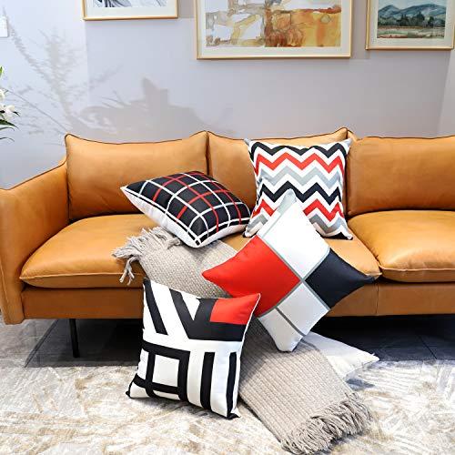 Acocho Chimaera Federe 4 Pack Cuscini per divani Decorativo...