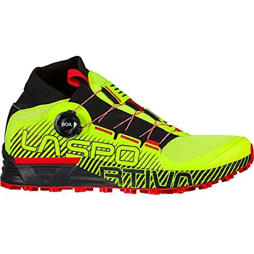 LA SPORTIVA Cyklon, Zapatillas de Trail Running Hombre, Neon/Goji, 46 EU