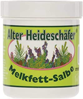 Alter Heideschäfer Melkfett Salbe Hautschutz Körperpflege, 100 ml