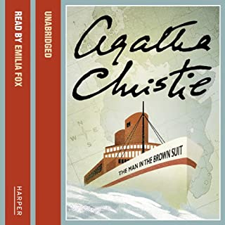 The Man in the Brown Suit                   By:                                                                                                                                 Agatha Christie                               Narrated by:                                                                                                                                 Emilia Fox                      Length: 7 hrs and 59 mins     129 ratings     Overall 4.3