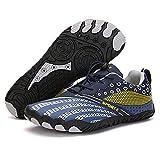 Aerlan Laufschuhe für Männer und Frauen,Zapatos de montañismo para Deportes al Aire Libre, Senderismo Cinco tortus-Deep Blue_41 Yardas (262,4 mm),Zapatos para Correr de Aire para Mujer