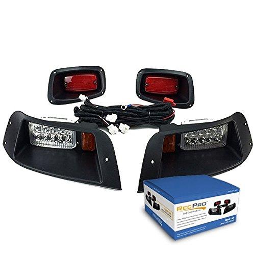 RecPro New EZGO TXT Adjustable Golf CART All LED Light KIT 1996-2013