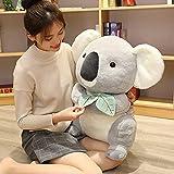 30-50 CM Lindo Koala Oso de Peluche de Juguete Animales Suaves de Peluche Koala muñeca Almohada Kawaii Regalo para niños bebé cumpleaños Navidad Los 40cm