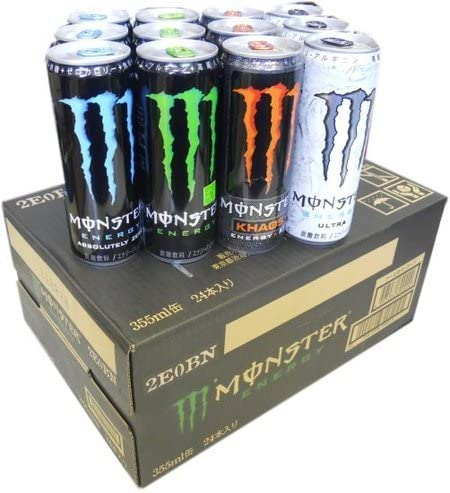 ドリンク monster エナジー モンスターエナジーの危険性 種類と効果やカフェイン量&飲み方と注意点まとめ