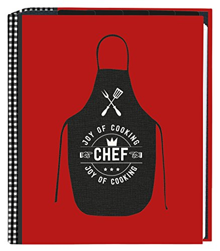 Moses Carpeta de recetas DIN A5, con fundas transparentes y compartimentos para recetas (idioma español no garantizado)