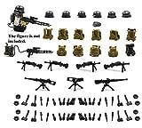 MAGMABRICK Kriegsmaschine im zweiten Weltkrieg Baustein für Legos-kompatibles Minifiguren