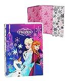 Heftordner / Ordner A5 - ' Disney die Eiskönigin / Frozen ' - für Hefte, Zettel und Mappen - Gummizugmappe & Heftmappe - Mappe Ordnermappe / Ordnungsmappe Hefter Heftbox - A 5 - Kinder...