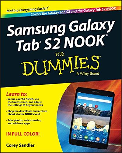 Samsung Galaxy Tab S2 NOOK For Dummies (English Edition)