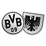 Borussia Dortmund Autoaufkleber/Aufkleber/Sticker Wappen Emblem BVB 09 - Plus gratis Aufkleber Forever Dortmund