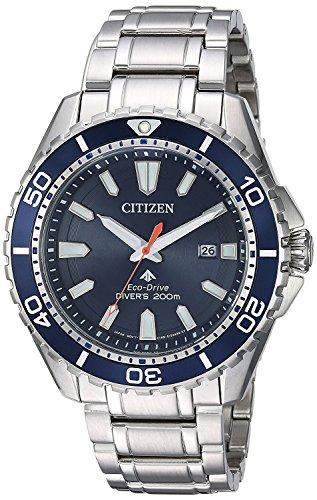 Citizen Promaster Diver BN0191-55L - Reloj de pulsera para hombre, color azul