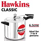HawkinsClassic CL65 6.5-Liter New Improved Aluminum Pressure Cooker, Small, Silver
