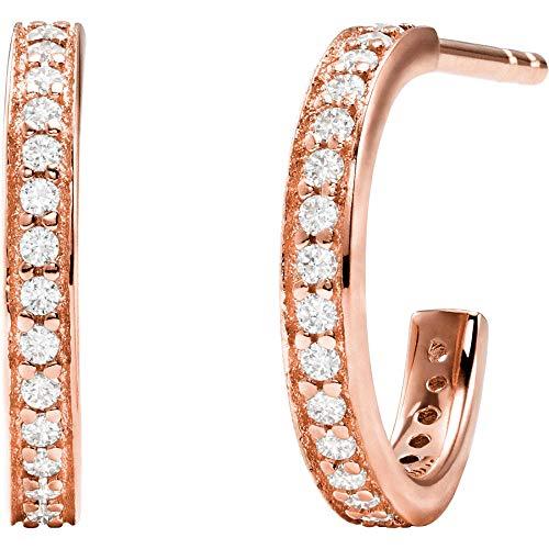 Michael Kors Damen-Ohrstecker 925er Silber One Size Roségold 32010727