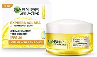 Garnier Skin Naturals Face Express aclara crema hidratante tono uniforme con fps 30